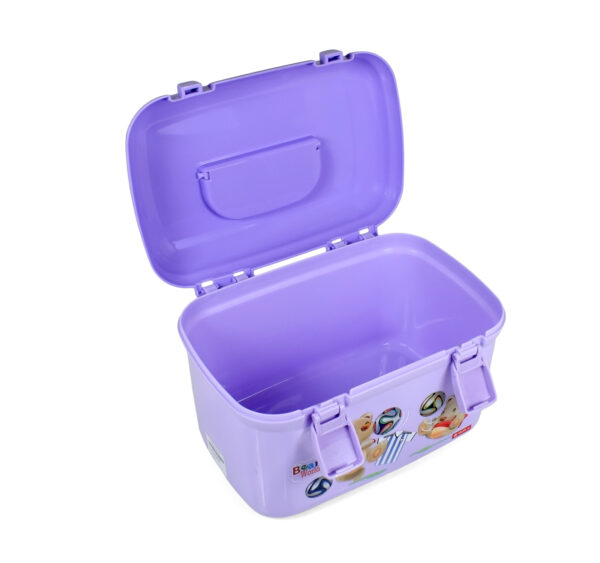 Lion Star Multi Purpose Storage Box - Purple-20913