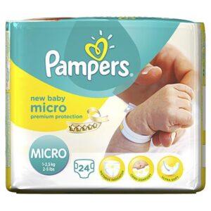 Pampers Premium Protection Micro Diaper - 24 pcs-0