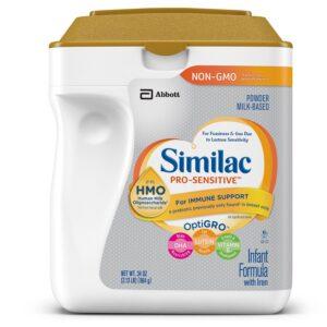 Similac Pro-Sensitive Powder Infant Formula with Iron, with 2'-FL HMO - 964 gm-0
