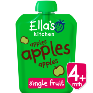 Ellas Kitchen Organic Apples Puree (4M+) - 70gm-0