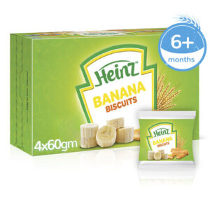 Heinz Banana Biscuits - 60gm (Best Before 03 aug, 2020)-0