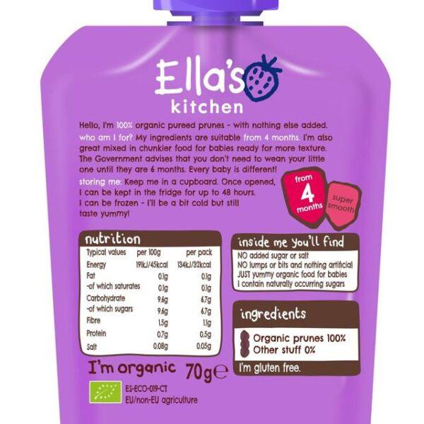 Ella's Kitchen Organic Prunes (4M+) - 70g-21672