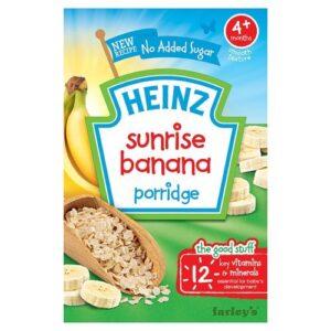 Heinz Sunrise Banana Porridge, 4+ Months -125 gm-0