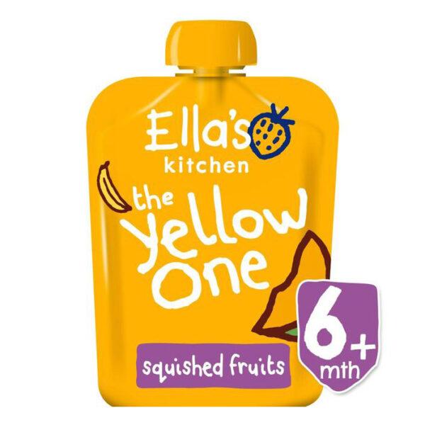 Ellas Kitchen Organic Smoothie Fruits The Yellow One Single (6M+) - 90g-0