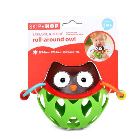 Skip Hop Explore & More Roll Around Owl - Multicolor-0