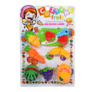 Cutting Fruit Cook Set - Pretend Play - Multicolor-0