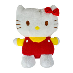 Bottle Cover Soft Plush Toy Style (Hello Kitty) - Red-0