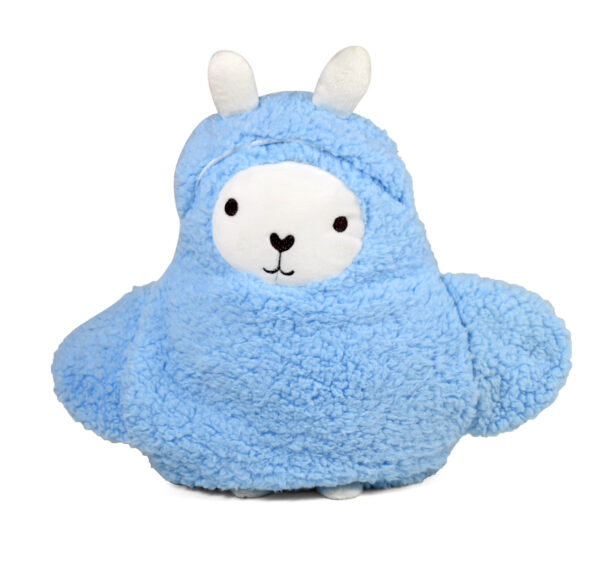 Baby Blanket with Penguin Cover - Blue-21864