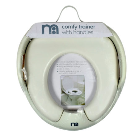 Mothercare Comfy Trainer (Potty Trainer) With Handle - White-0