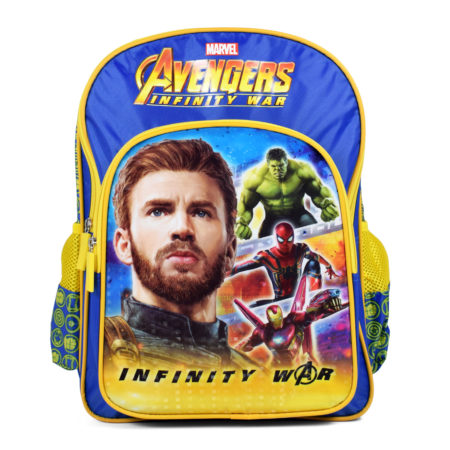 Marvel Avengers Infinity War School Bag Blue - 18 inches-0