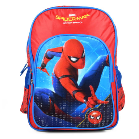Marvel Spider Man Home Coming School Bag Red - 16 inches-0