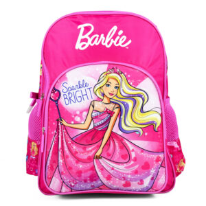 Barbie Sparkle Bright School Bag Pink - 18 inches-0