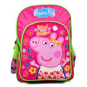 Peppa Pig School Bag Pink - 16 inches-0