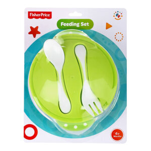 Fisher Price Baby Feeding Set - Green-0