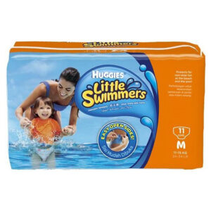 Huggies Little Swimmers, Disposable Swimming Diapers (11pcs) - Medium-0