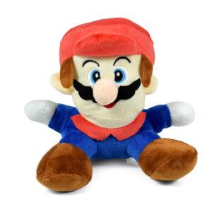 "Super Mario Plush - 7"" Mario Soft Stuffed Plush Toy-0"