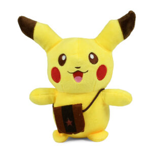 Stuffed Cuddly Pikachu Plush Toy, Soft Toy - 8 Inch-0