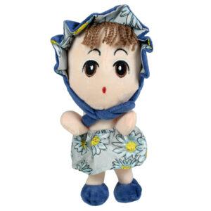 Stuffed Cuddly A Cute Doll Plush Toy, Soft Toy (Blue) - 8 Inch-0