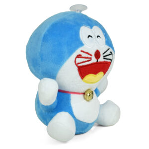 Stuffed Cuddly Doraemon Plush Toy, Hangable Soft Toy - 8 Inch-0