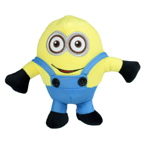 Stuffed Cuddly Minion Plush Toy, Hangable Soft Toy - 7 Inch-0