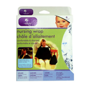 Mother Hood Nursng Wrap, Nursing Cover - White-0