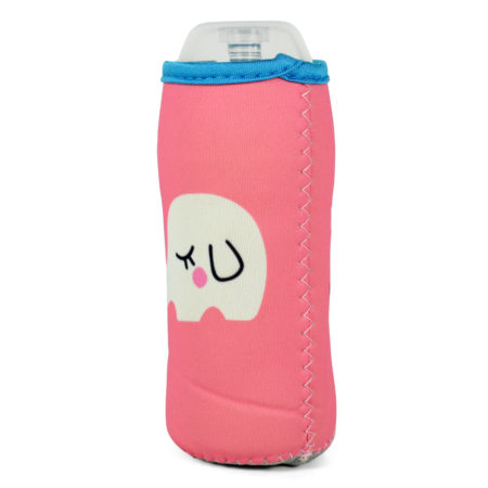 Feeding Bottle Cover - Pink/Peach-0