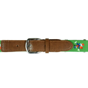 Italy Stretchable Kids Belt (Donald Duck) - Green-0
