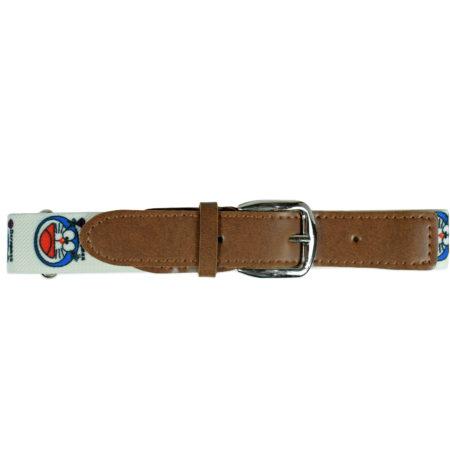 Italy Stretchable Kids Belt (Doraemon) - White-0