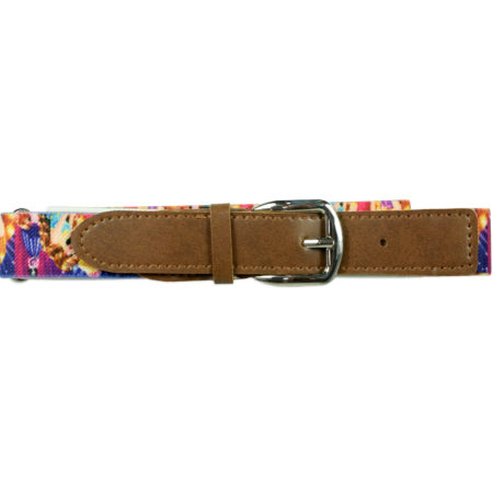 Italy Stretchable Kids Belt (Princess) - Multicolor-0