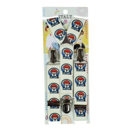 Adjustable Suspender for Kids - Gallus (Doraemon) - White-0