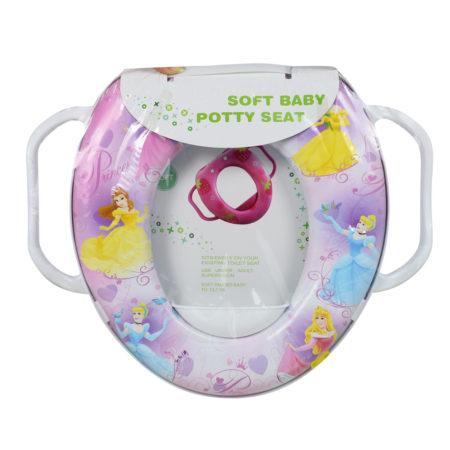 Soft Cushion Potty Trainer Comfortable Seat (Princess) - Pink-0