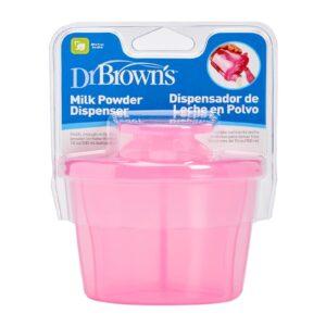 Dr Brown's Milk Powder Dispenser - Pink-0