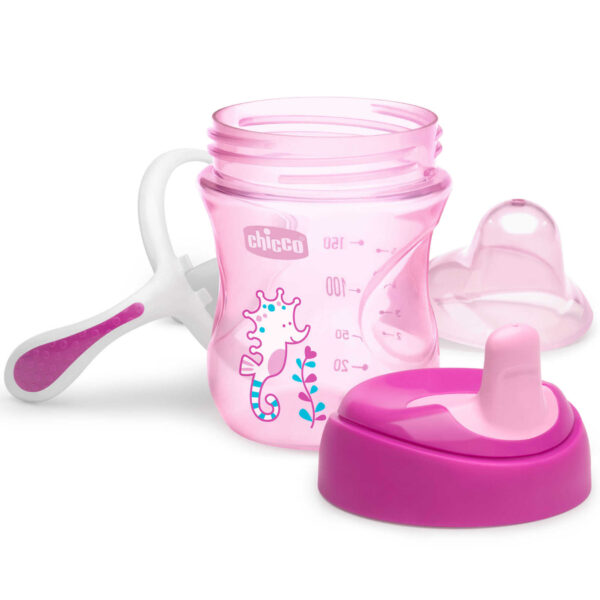 Chicco Training Cup 6M+, Pink - 200ml-24732