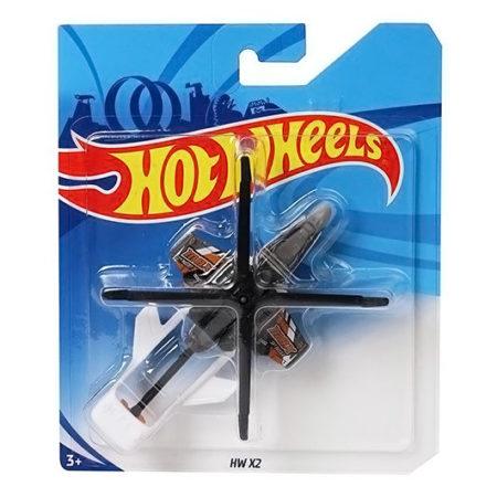 Hot Wheels HW X2 Chopper Toy - Black-0