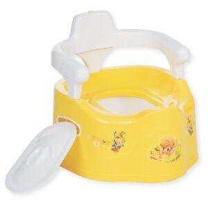 Childcare Sitting Toilet, Potty Training Seat - Yellow-0