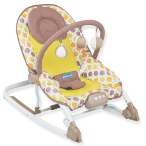Childcare Take Along Rocker – On The go Comfort and Cozy Feel - Brown-0