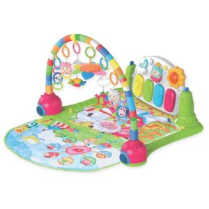 Childcare Piano Gym, Musical Toy to Stimulate Motor Skills - Multicolor-0