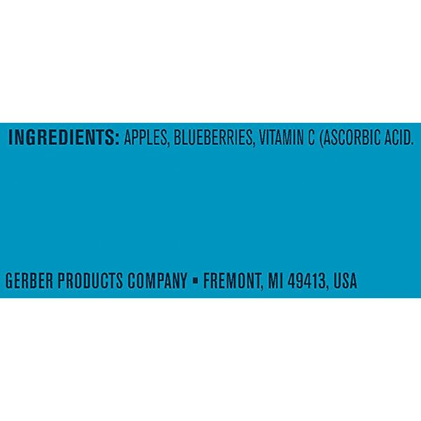 Gerber 2nd Foods Apple Blueberry, 113gm Tubs, 2 Count-24553