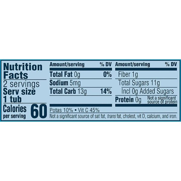 Gerber 2nd Foods Apple Blueberry, 113gm Tubs, 2 Count-24555