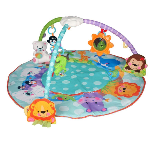 Smart Baby Deluxe Musical Activity Gym - Multicolor-24691