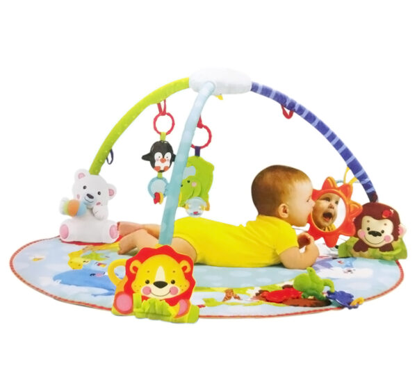 Smart Baby Deluxe Musical Activity Gym - Multicolor-24689