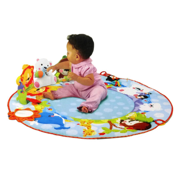 Smart Baby Deluxe Musical Activity Gym - Multicolor-24688