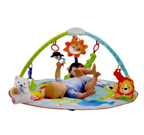 Smart Baby Deluxe Musical Activity Gym - Multicolor-24686