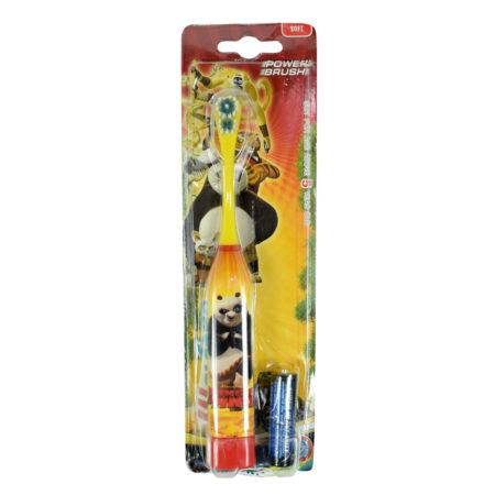 Welfare Battery Powered Electrical Massage Toothbrush For Kids - Kungfu Panda-0