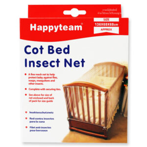 Happyteam Quality Baby Cot Net for Insects, Baby Crib Nets - White-0