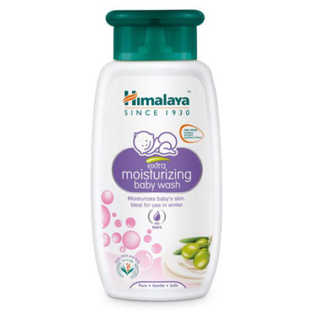Himalaya Baby Care Extra Moisturizing Baby Wash - 200ml-0
