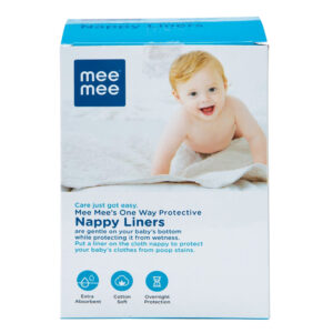 Mee Mee One-Way Nappy Liners - 100 Liners-0