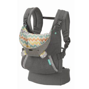Infantino Cuddle Up Ergonomic Hoodie Carrier - Grey-0
