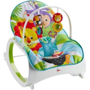Fisher Price Newborn to Toddler Rocker - Lion & Monkey-0