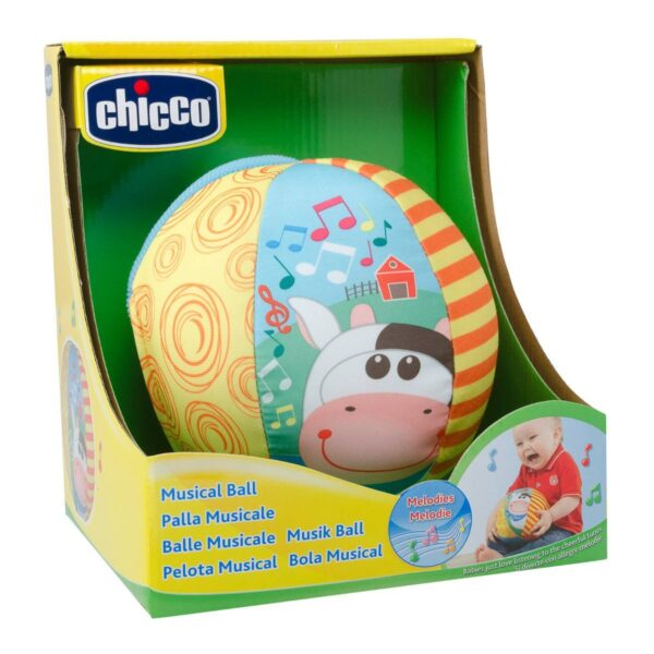 Chicco Musical Ball Toy - Multicolor-25666